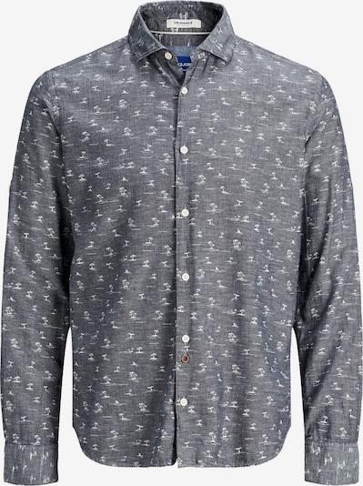 Jack & Jones Junior Hemd in taubenblau, Produktansicht