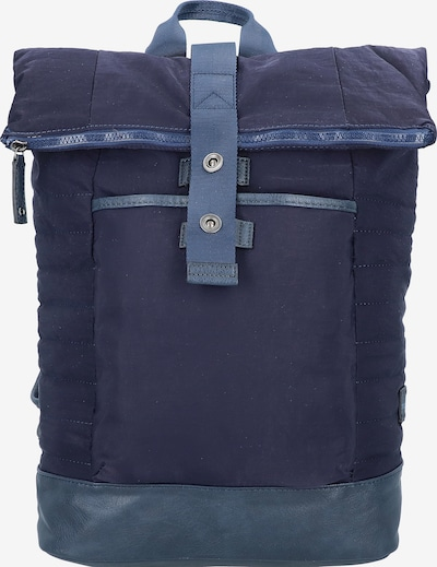 TOM TAILOR Backpack in blau: Frontalansicht