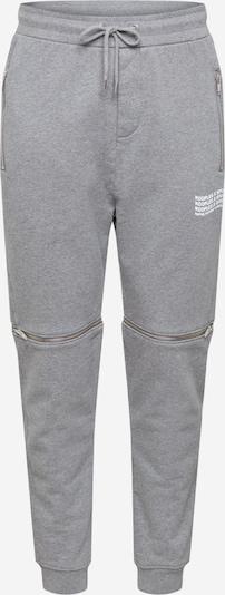 THE KOOPLES SPORT Spodnie w kolorze szary / białym, Podgląd produktu