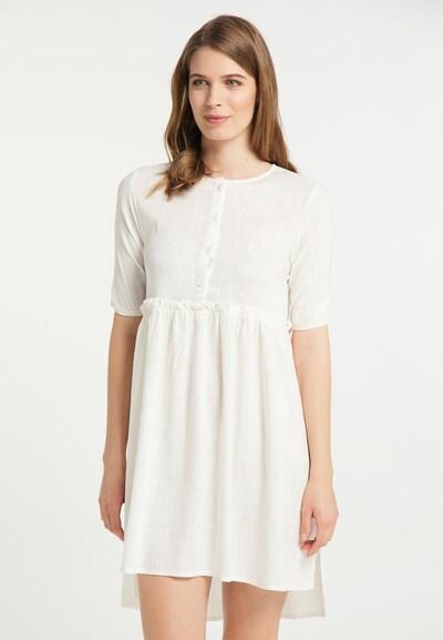 Usha Sommerkleid in weiß, Modelansicht