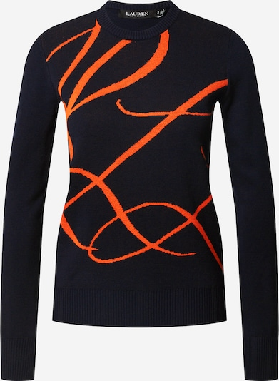 Lauren Ralph Lauren Sweater 'Janitra' in navy / orange, Item view