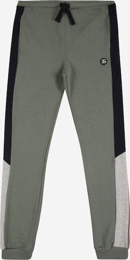 ESPRIT Jogginghose in graumeliert / oliv / schwarz, Produktansicht