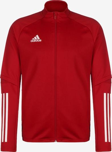 ADIDAS PERFORMANCE Sweatjacke 'Condivo 20' in rot / weiß, Produktansicht