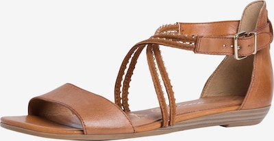 TAMARIS Sandale in chamois, Produktansicht