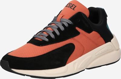 DIESEL Sneaker 'SERENDIPITY' in orange / schwarz, Produktansicht