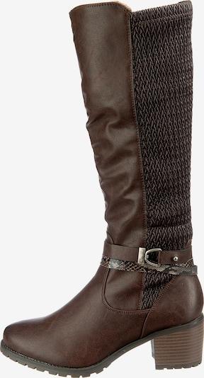 Relife Stiefel in dunkelbraun, Produktansicht