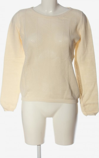 SELECTED FEMME Strickpullover in S in creme, Produktansicht