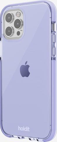 Holdit Θήκη κινητού τηλεφώνου 'Seethru Case iPhone' σε λιλά