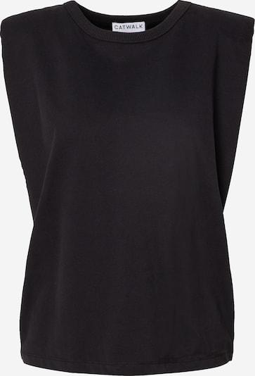 CATWALK JUNKIE Top 'VERA' in schwarz, Produktansicht