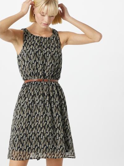ABOUT YOU Obleka 'Lavina' | črna / bela barva, Prikaz modela