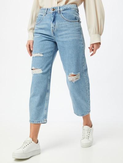DRYKORN Jeans 'Shelter' in blue denim, Modelansicht