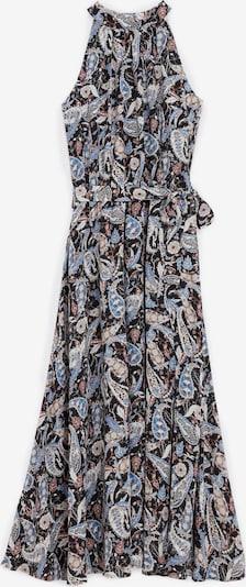 Zibi London Kaschmir Druck Maxi Kleid Polly in schwarz, Produktansicht