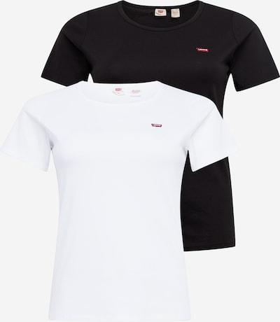 Levi's® Plus Shirt in de kleur Zwart / Wit, Productweergave