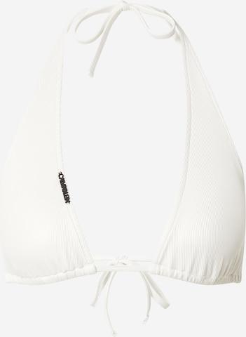 Calvin Klein Swimwear Bikinitopp i beige