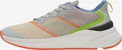 Hummel Sportschuh in himmelblau / grau / grün / orange, Produktansicht