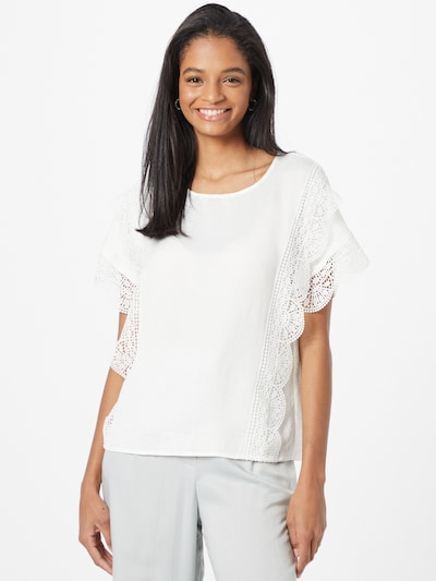 Bluză 'Peri' VERO MODA pe alb, Vizualizare model