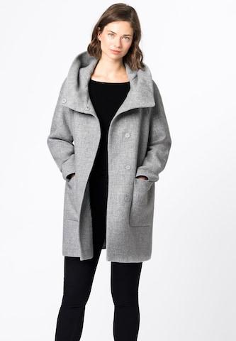 HALLHUBER Between-Seasons Coat in Grey