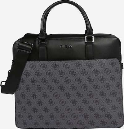 GUESS Document bag 'VEZZOLA' in grey / black, Item view