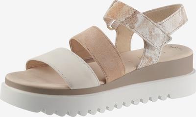 GABOR Sandalette in nude / sand / hellbeige, Produktansicht