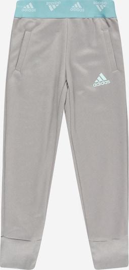 ADIDAS PERFORMANCE Sporthose en hellblau / grau, Vue avec produit