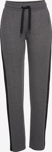 BENCH Pantalon 'Lounge Pants' en anthracite, Vue avec produit