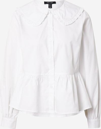 Bluză 'FREDDI' NEW LOOK pe alb, Vizualizare produs
