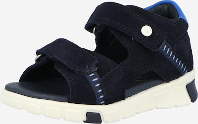 Sandalai 'Stride' iš ECCO, spalva – mėlyna / tamsiai mėlyna / balta, Prekių apžvalga