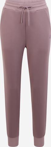 CURARE Yogawear Športové nohavice - fialová