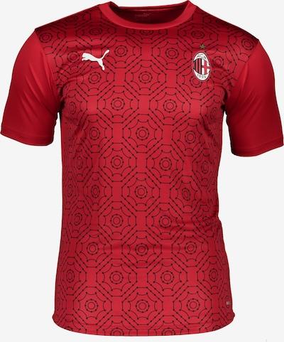PUMA T-Shirt in rot / schwarz / weiß, Produktansicht