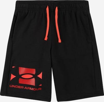 UNDER ARMOUR Pantalon de sport en rouge / noir, Vue avec produit