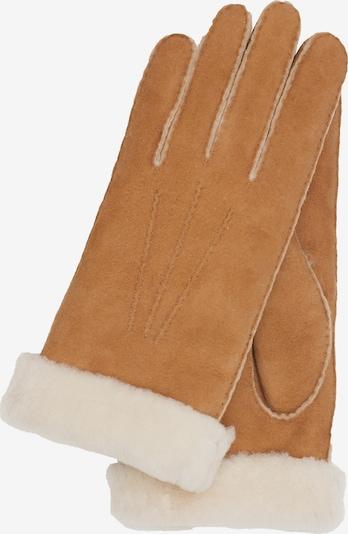 KESSLER Handschuh Ilvy in braun / gelb, Produktansicht