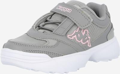 KAPPA Sneaker 'KRYPTON' in grau / rosa / weiß, Produktansicht