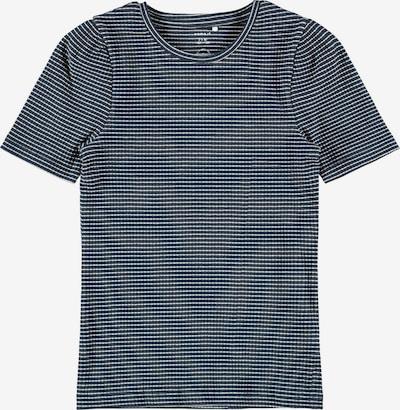 NAME IT Shirt 'Lara' in de kleur Nachtblauw / Wit, Productweergave