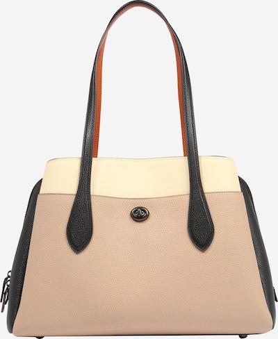 COACH Tasche in taupe / schwarz, Produktansicht