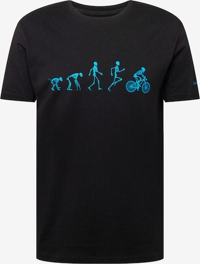 Tricou funcțional DARE2B pe albastru deschis / negru, Vizualizare produs