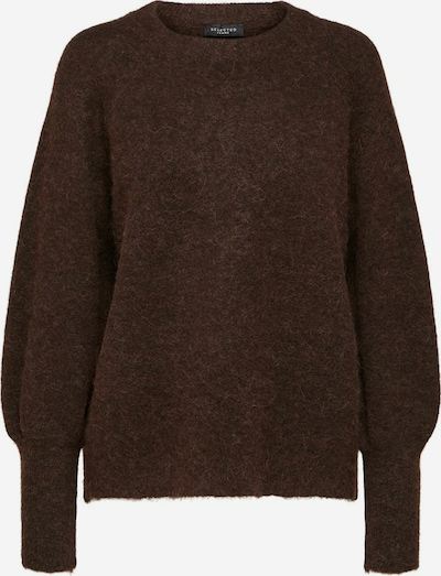 SELECTED FEMME Pullover in braun, Produktansicht