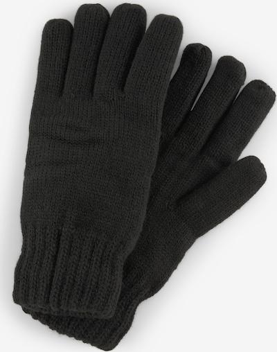 TOM TAILOR Vingerhandschoenen in de kleur Zwart: Vooraanzicht