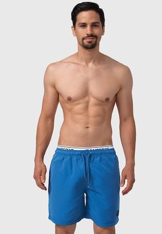 Shorts de bain INDICODE JEANS en bleu