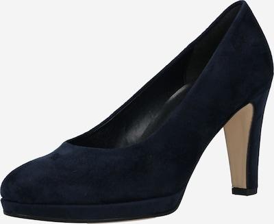 GABOR Zapatos con plataforma en azul oscuro, Vista del producto
