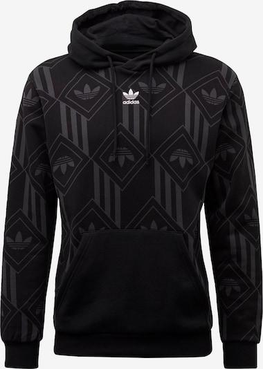 ADIDAS ORIGINALS Sweatshirt in de kleur Zwart: Vooraanzicht