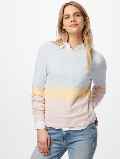 VERO MODA Pulover 'DOFFY' u pastelno plava / pastelno žuta / pastelno roza, Prikaz modela