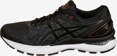 ASICS Gel-Nimbus 22 Knit Laufschuh Herren in schwarz, Produktansicht