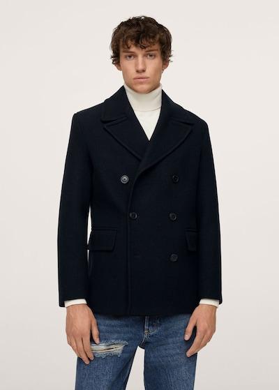 MANGO MAN Prijelazni kaput 'Tinof' u mornarsko plava, Prikaz modela