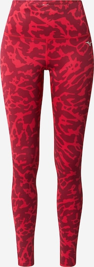 MIZUNO Sporthose in rot / dunkelrot, Produktansicht