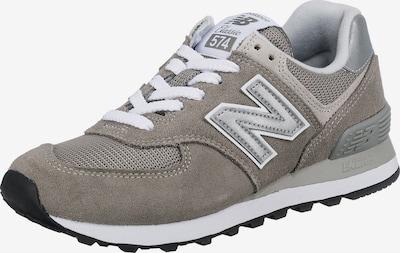 Sneaker low new balance pe gri taupe / gri deschis / argintiu / alb, Vizualizare produs