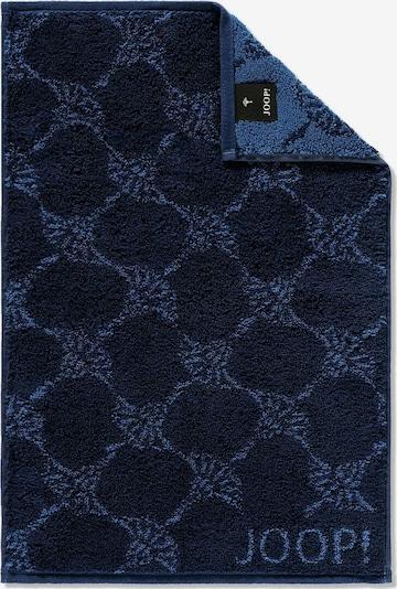 JOOP! Handdoek in de kleur Blauw / Nachtblauw, Productweergave