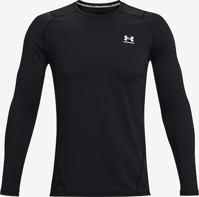 UNDER ARMOUR Performance Shirt in Black / White, Item view