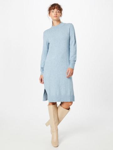 VILA Kootud kleit, värv sinine