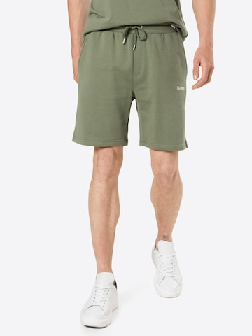 Les Deux Spodnie 'Pompei' w kolorze zielony