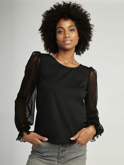 NAF NAF Bluse in schwarz, Modelansicht